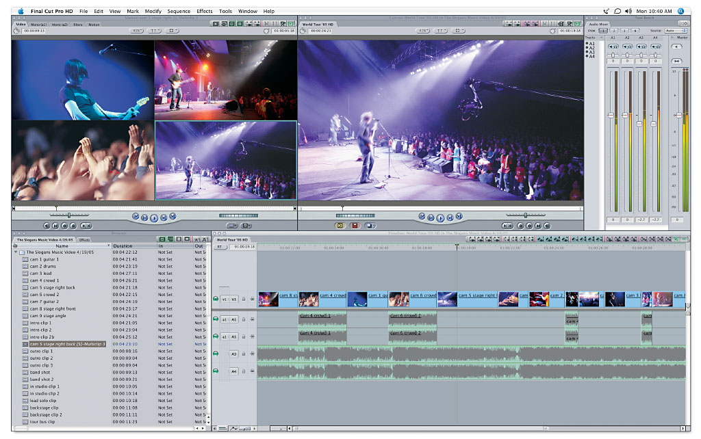 FCP multicam window